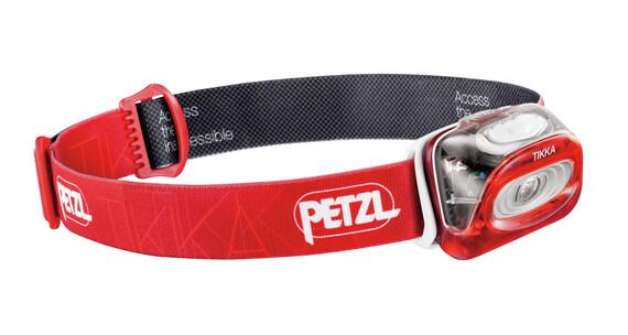 Petzl Tikka hoofdlamp rood
